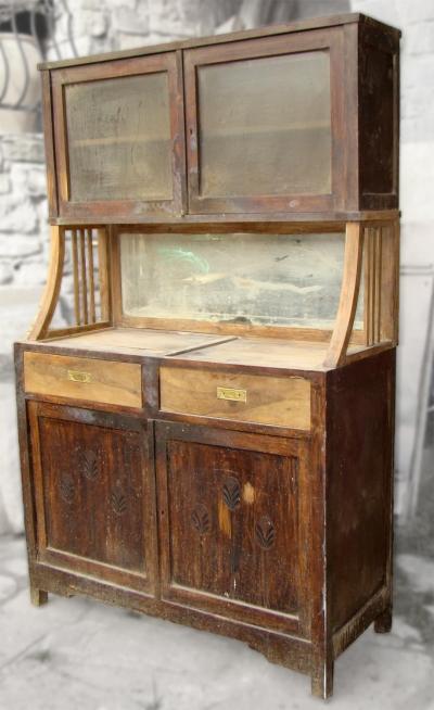 Antic58 alacena nogal - Fotos de muebles antiguos restaurados ...